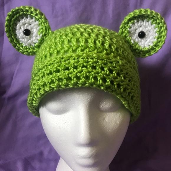 Kaella Accessories Frog Crochet Kids Hat Poshmark